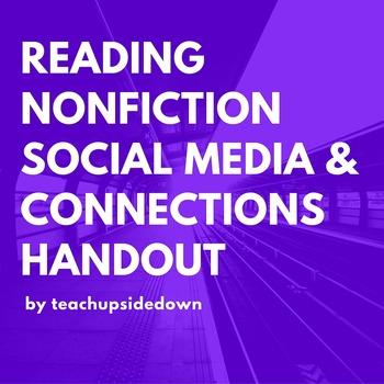 Reading Non-fiction Social Media & Connections Handout