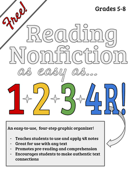Reading Nonfiction - 4R Graphic Organizer