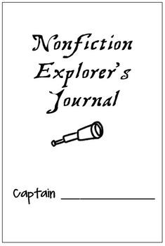 Reading Nonfiction Explorer's Journal