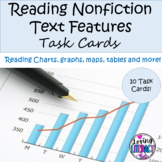 Reading Nonfiction Text Features Task Cards