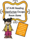 Reading Nonfiction Texts Escape Room Game