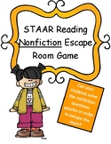 Reading Nonfiction Texts Escape Room Game