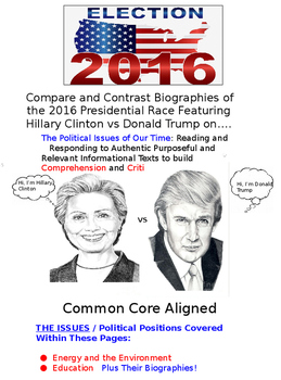 Compare and Contrast Donald Trump and Hillary Clinton