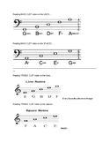 Reading Note Names in Band!