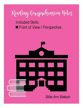 Reading Note Page: Point of View / Perspective
