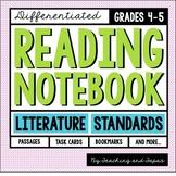 Reading Notebook *4th-5th Grade* LITERATURE