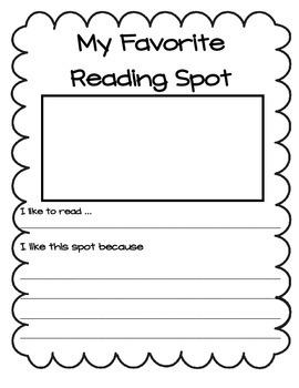 Reading Notebook Activities