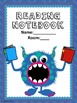 Reading Notebook Cover