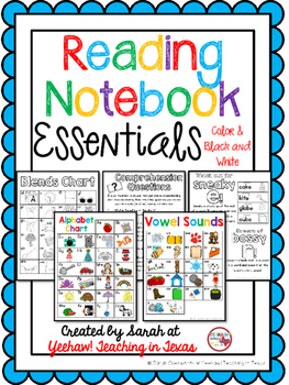 Reading Notebook Essentials