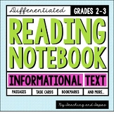 Reading Notebook *2nd-3rd Grade* INFORMATIONAL TEXT