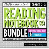 Reading Notebook *2nd-3rd Grade* Informational Text + Literature BUNDLE