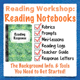 Reading Notebook: Reading Response Letters, Rubrics, Response Prompts, Book Logs