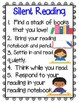 Reading Notebook for Silent Reading aligned with Common Core