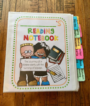 Reading Notebook for Student Responses Throughout the Year