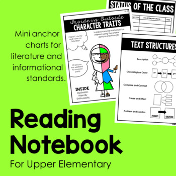 Reading Notebook for Upper Elementary