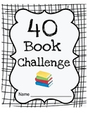 40 Book Challenge Reading Notebook inspired by The Book Whisperer