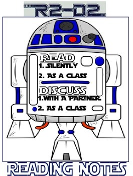 Reading Notes - R2D2 Style - Poster