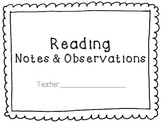 Reading Notes and Observations