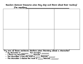 Reading Notes are Treasures: Character Traits