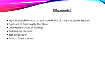 Reading Novels in Class