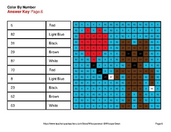 Reading Number Words 1-100 - Color By Number - Valentine's Day Mystery Pictures