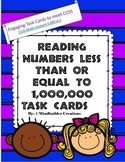 Reading Numbers to 1 Million Task Cards