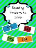 Reading Numbers to 1000 - Candyland Cards