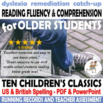 10 Reading Comprehension worksheet Passages Children's Classics with assessment