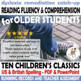 {MIDDLE SCHOOL READING INTERVENTION} {Intervention fluency