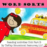 Reading Word Sort Level 1 Part B Unit