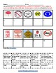 K - 2 Reading: Danger Signs - Life Skills -  Students with Autism - Visual Aid