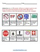 K - 2 Outdoor Signs - for Students w/ Mental Health or Medical Conditions