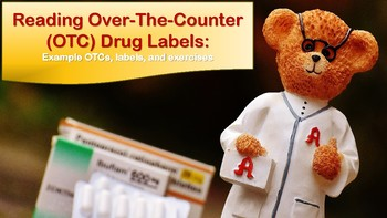 Reading Over The Counter (OTC) Drug Labels for LINC, PBLA, and ESL