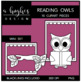 Reading Owls Mini Set {Graphics for Commercial Use}