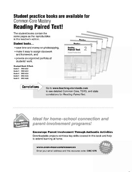 Reading Paired Text, Grade 6