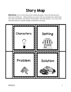 Reading Pals Interactive Notebook Toolkit for Grades 1-6 Common Core Aligned