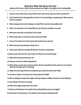 Reading Parent Prompting Guide