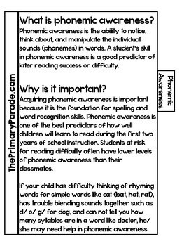 Reading Parent Resource Guide