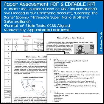Reading Part A/B Test Prep RLI 4
