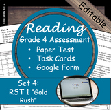 Reading Part A Part B Test, Task Cards RST 1- Informational
