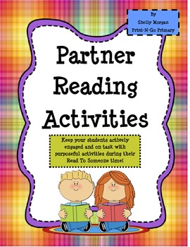 Reading Partner Activities
