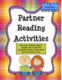 Reading Partner Activities