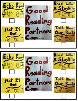 Reading Partner Activity Chart