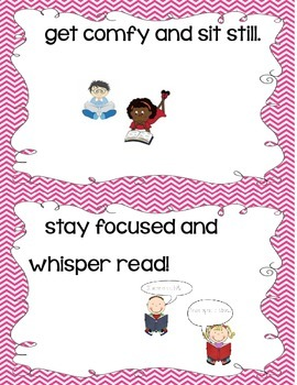 Powerful Reader Anchor Chart Cards