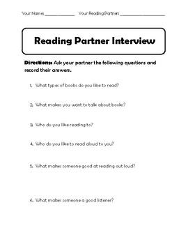 Reading Partner Interview