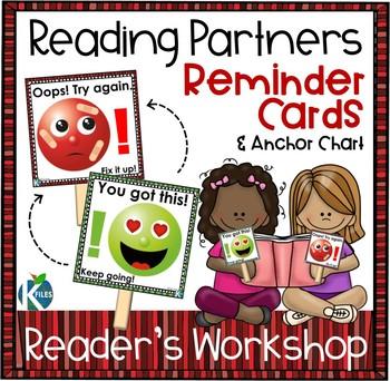 Reading Partner Reminder Flip Cards