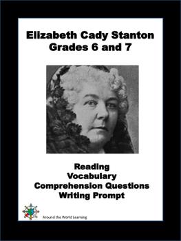 Reading Passage: Elizabeth Cady Stanton