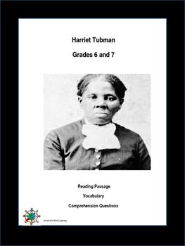 Reading Passage: Harriet Tubman