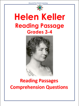 Reading Passage: Helen Keller Grades 3-4