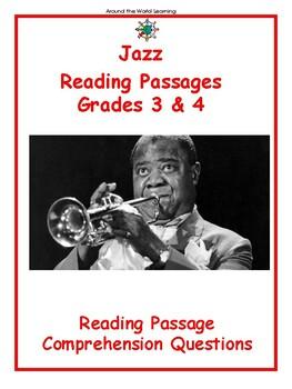 Reading Passage: Jazz Music - Grades 3 & 4